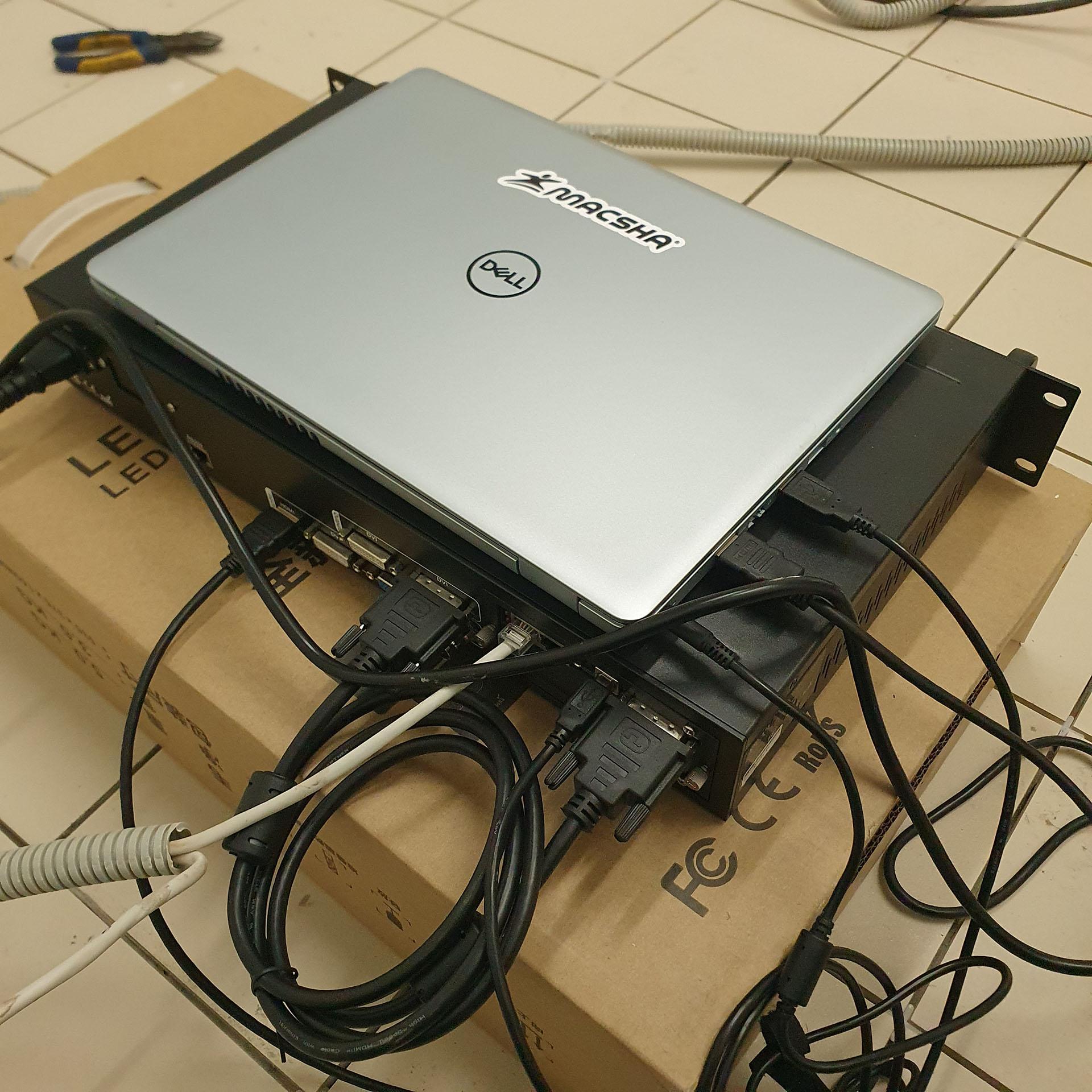 Система управления видеоэкраном